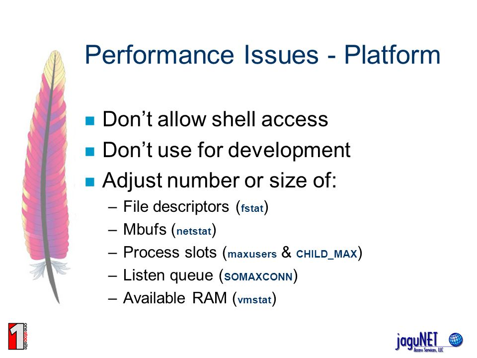 Performance Issues - Platform