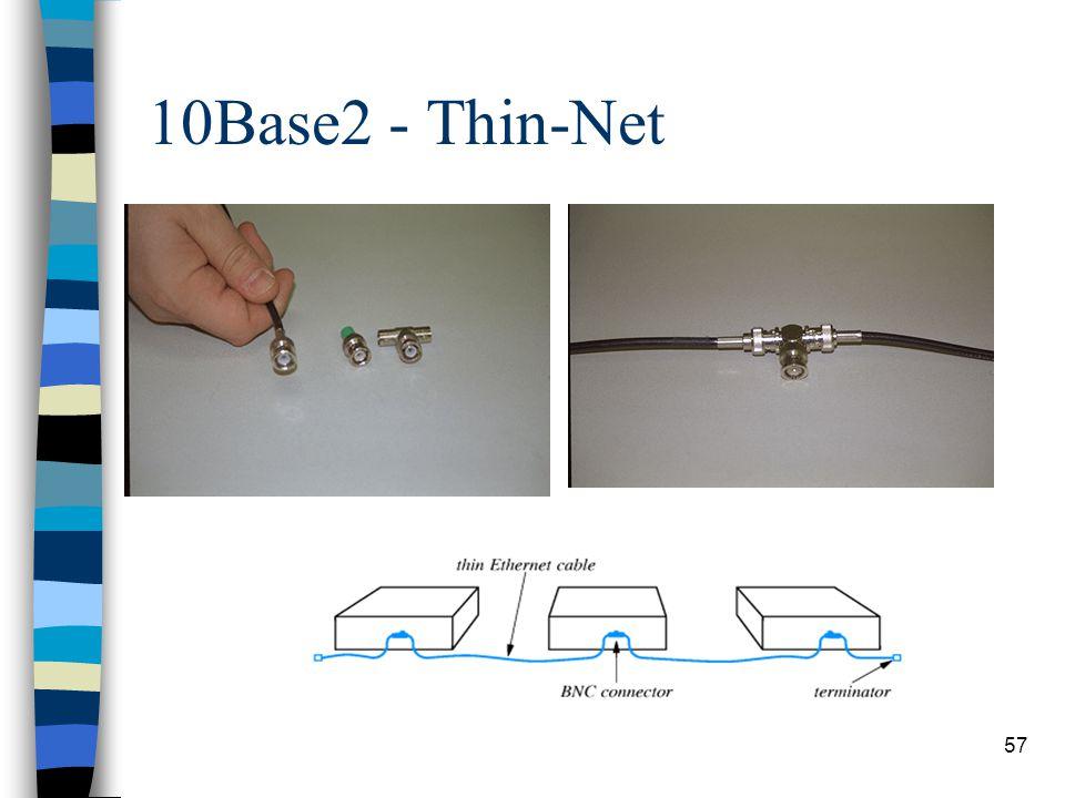 10Base2 - Thin-Net mhmh