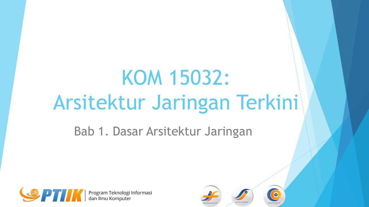 KOM 15032: Arsitektur Jaringan Terkini