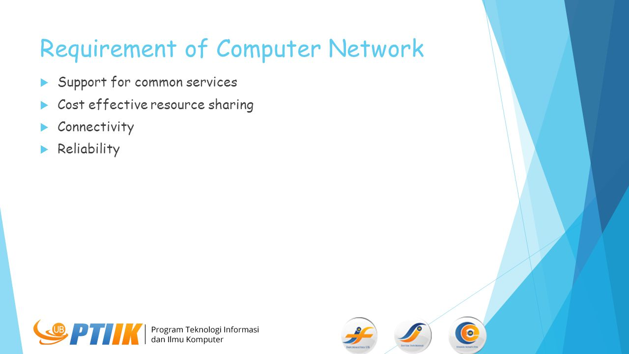 Requirement of Computer Network