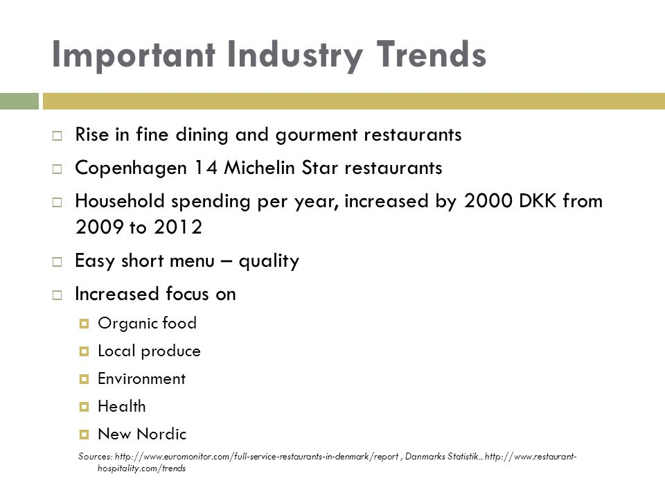 Important Industry Trends