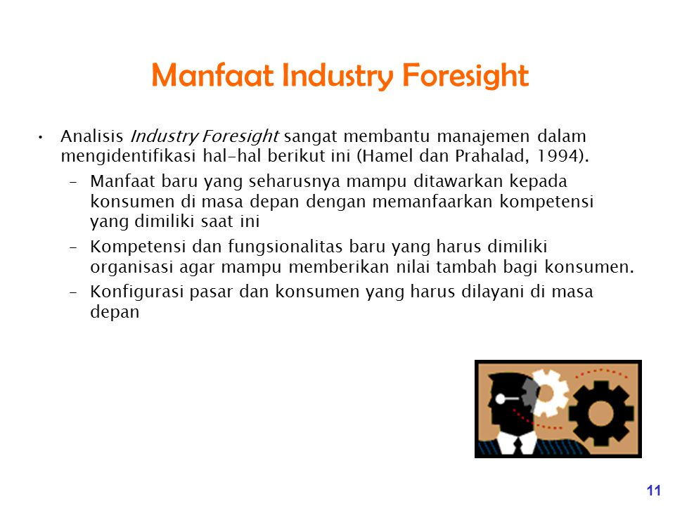 Manfaat Industry Foresight