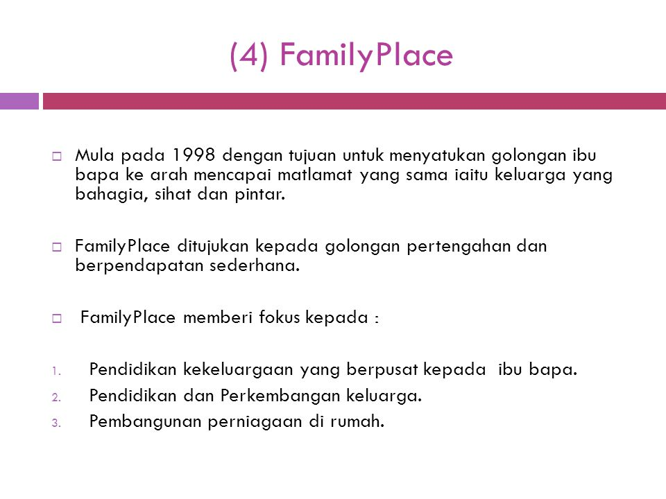 (4) FamilyPlace