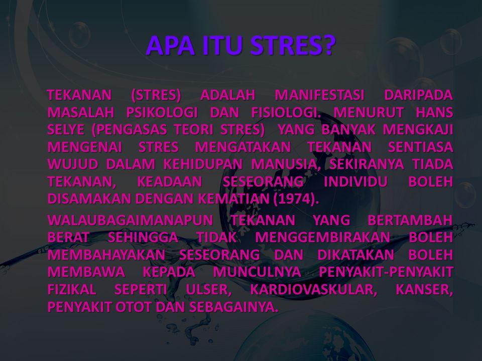 APA ITU STRES