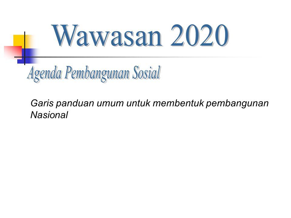Agenda Pembangunan Sosial
