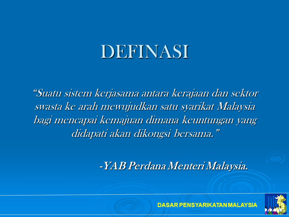 -YAB Perdana Menteri Malaysia.
