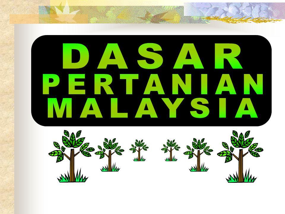 DASAR PERTANIAN MALAYSIA