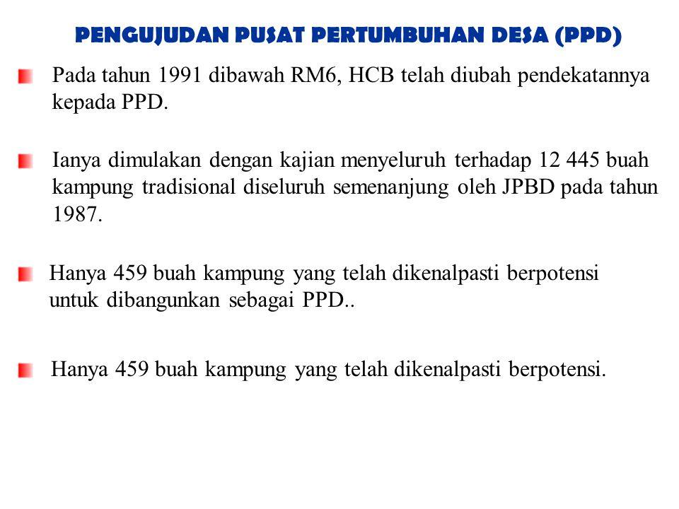PENGUJUDAN PUSAT PERTUMBUHAN DESA (PPD)