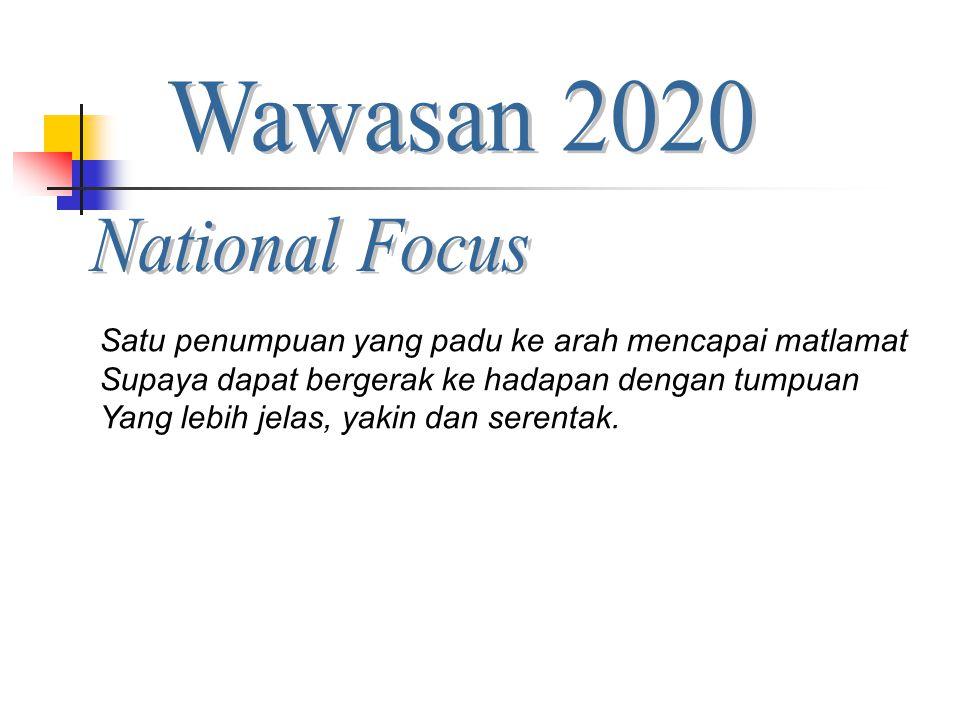 Wawasan 2020 National Focus