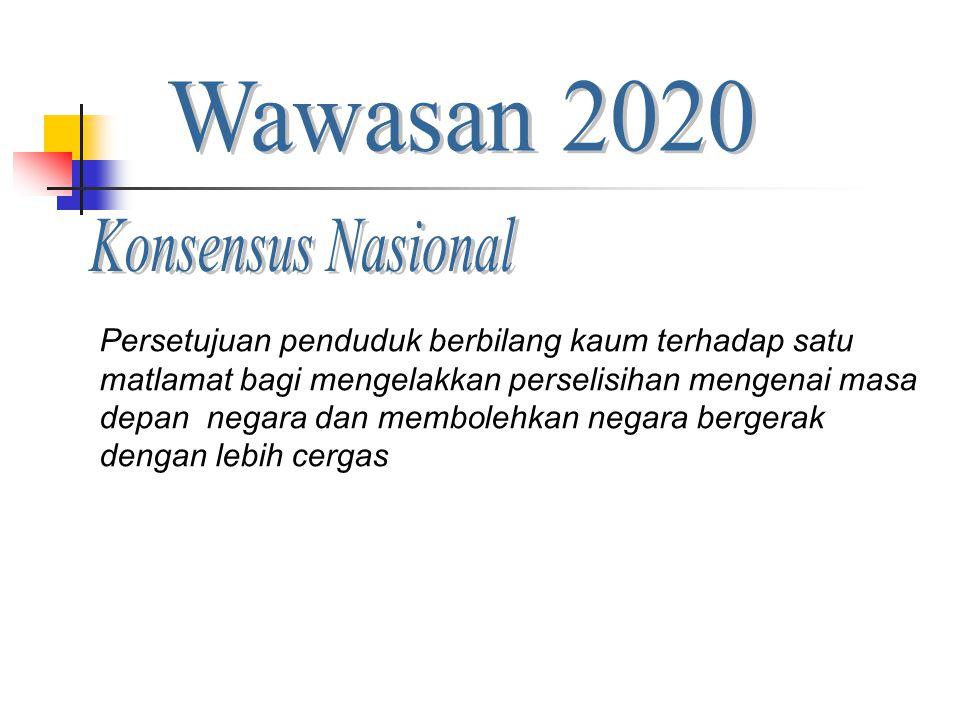 Wawasan 2020 Konsensus Nasional