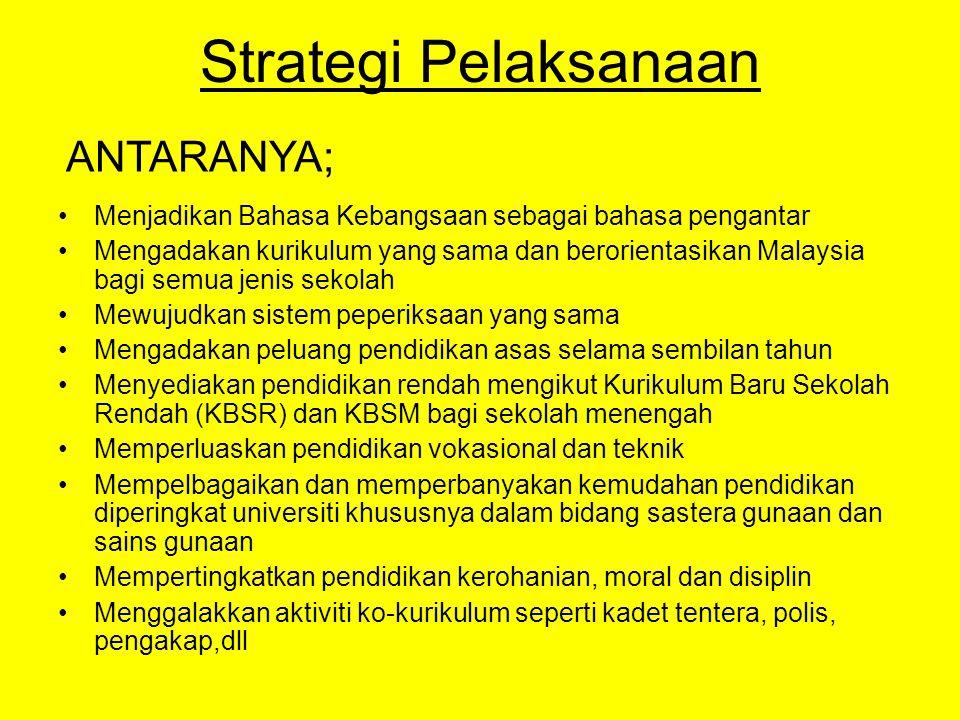Strategi Pelaksanaan ANTARANYA;