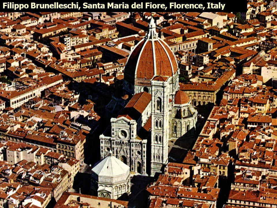 Filippo Brunelleschi, Santa Maria del Fiore, Florence, Italy