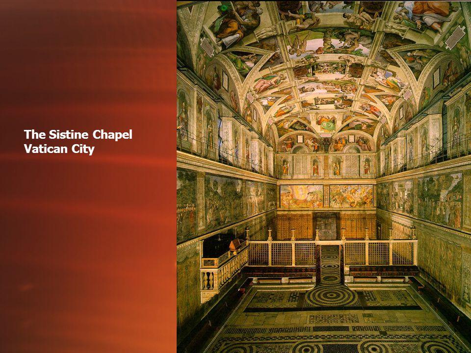 The Sistine Chapel Vatican City