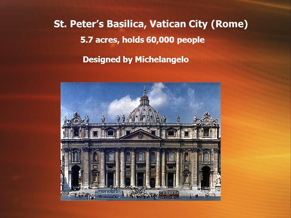 St. Peter's Basilica, Vatican City (Rome)