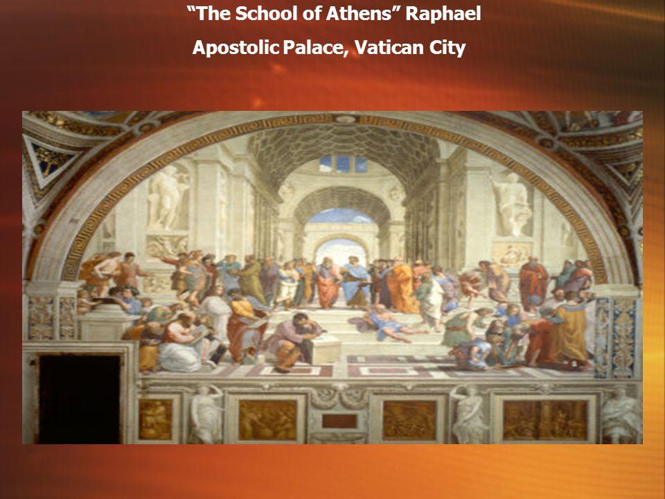 The School of Athens Raphael Apostolic Palace, Vatican City
