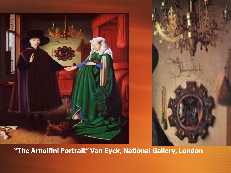 The Arnolfini Portrait Van Eyck, National Gallery, London
