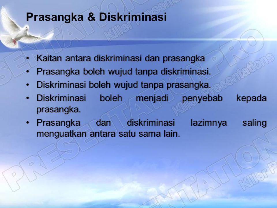Prasangka & Diskriminasi
