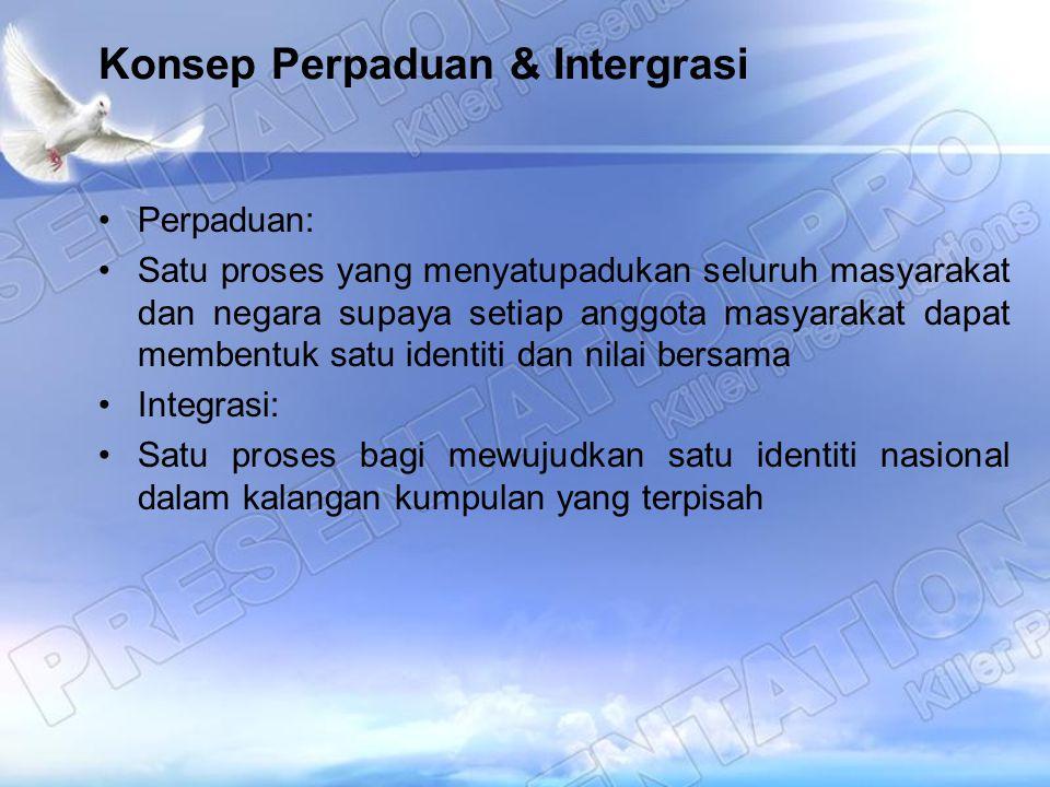 Konsep Perpaduan & Intergrasi