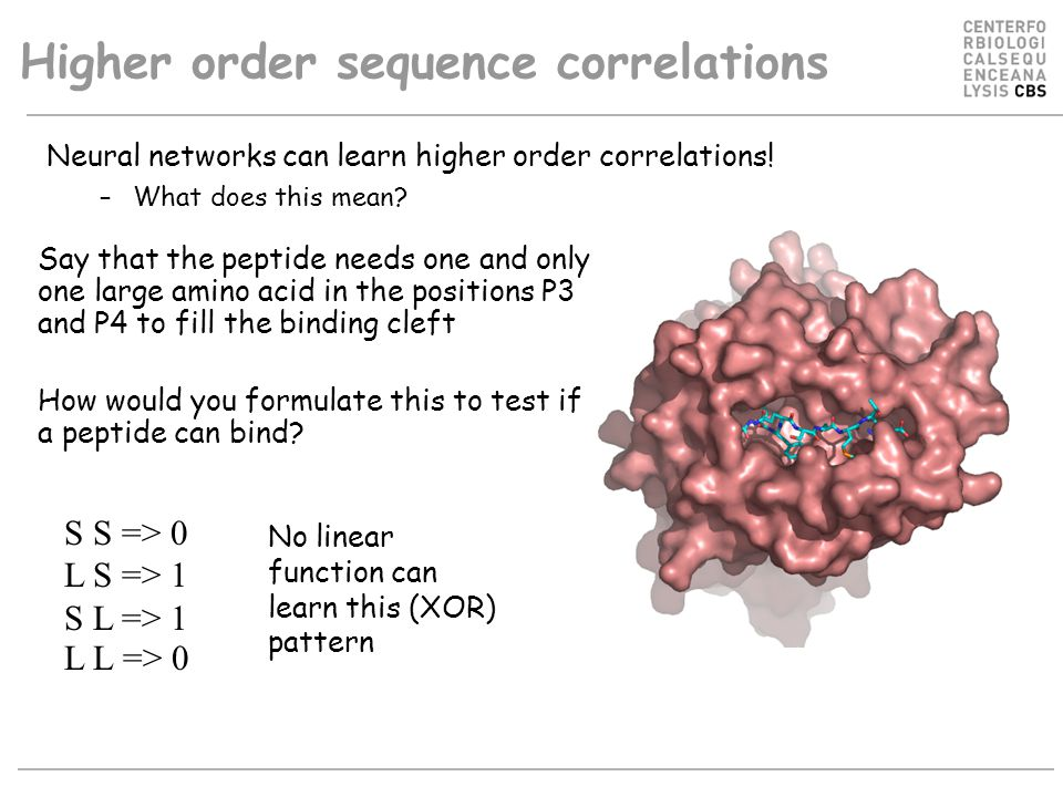 Higher order sequence correlations