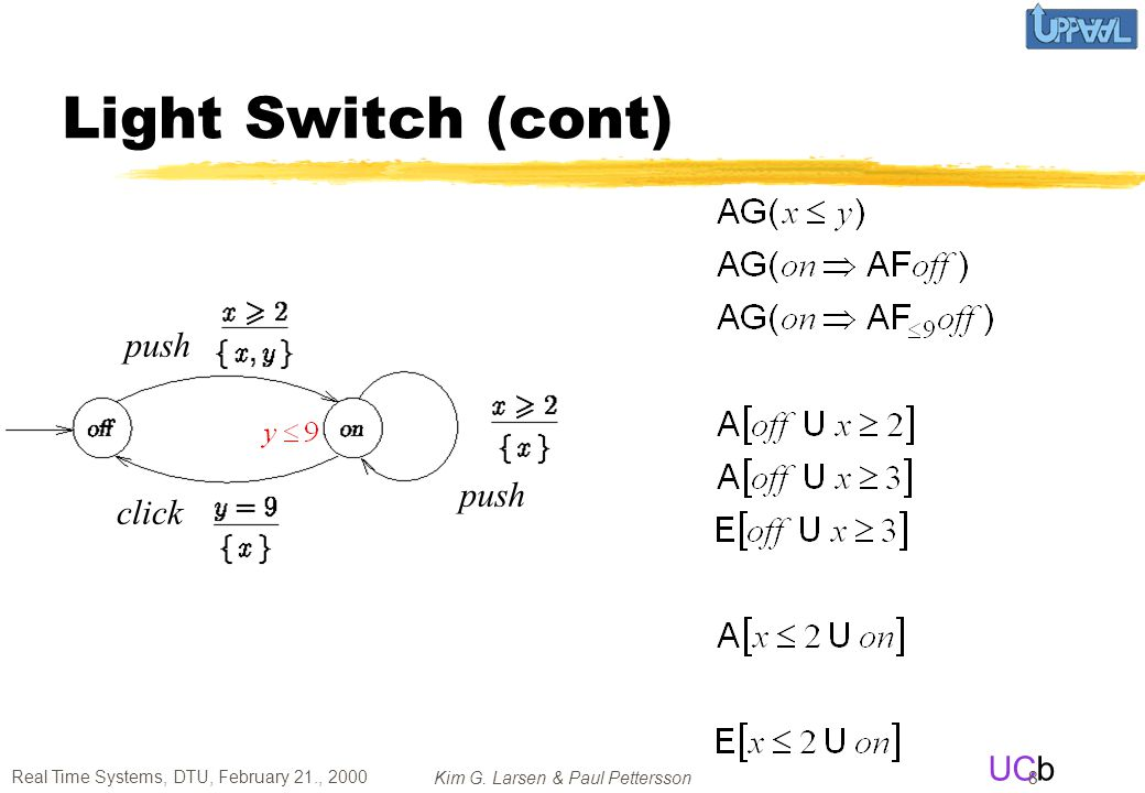 Light Switch (cont) push push click