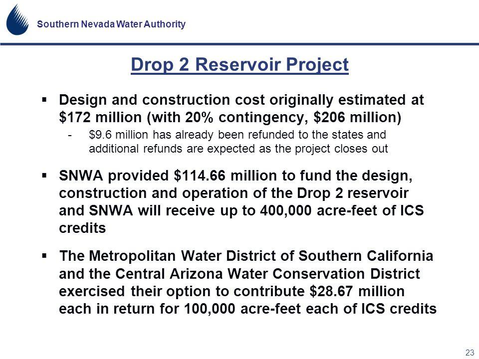 Drop 2 Reservoir Project