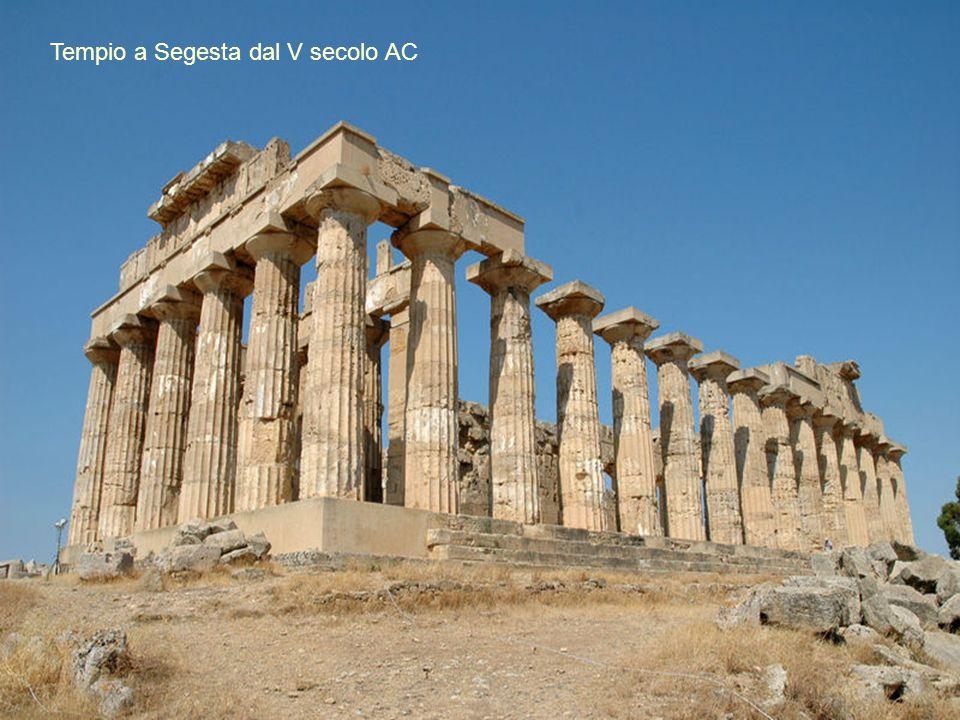 Tempio a Segesta dal V secolo AC
