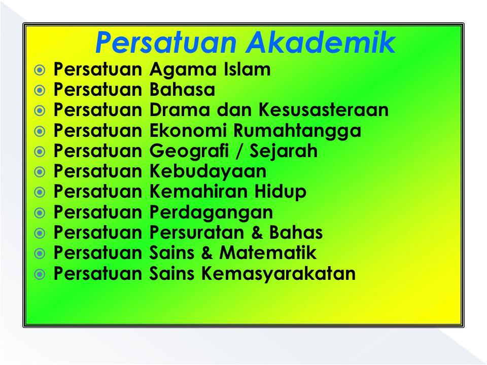 Persatuan Akademik Persatuan Agama Islam Persatuan Bahasa