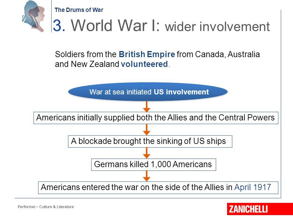 3. World War I: wider involvement