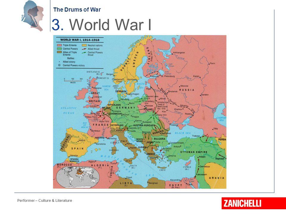 3. World War I Performer – Culture & Literature