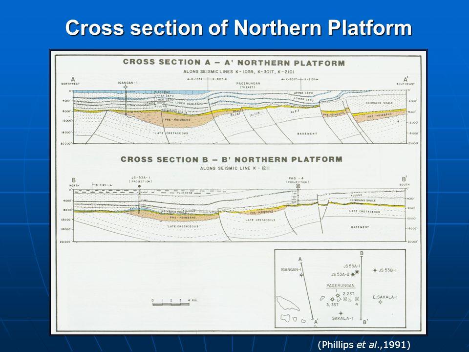 Cross section of Northern Platform