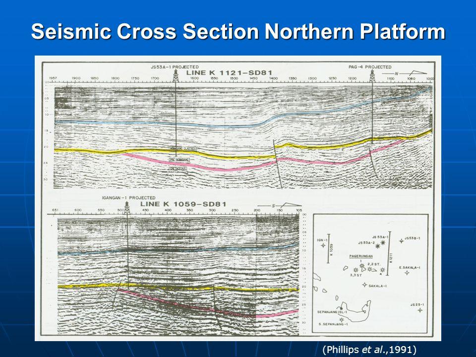 Seismic Cross Section Northern Platform
