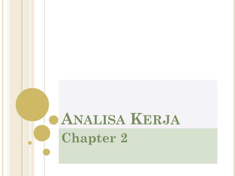 Analisa Kerja Chapter 2