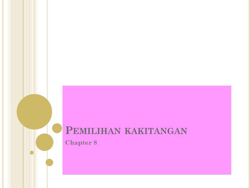 Pemilihan kakitangan Chapter 8
