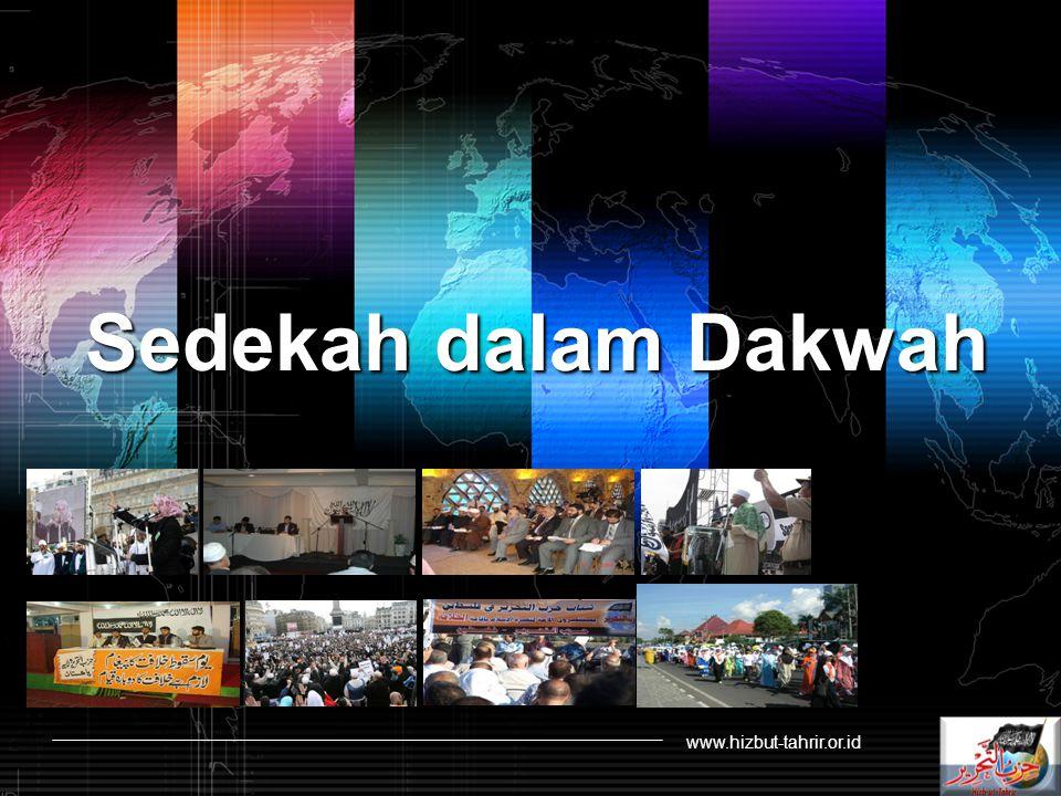 Sedekah dalam Dakwah www.hizbut-tahrir.or.id