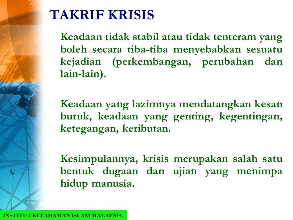 TAKRIF KRISIS