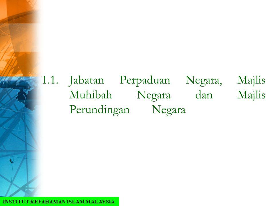 1. 1. Jabatan Perpaduan Negara, Majlis. Muhibah Negara dan Majlis