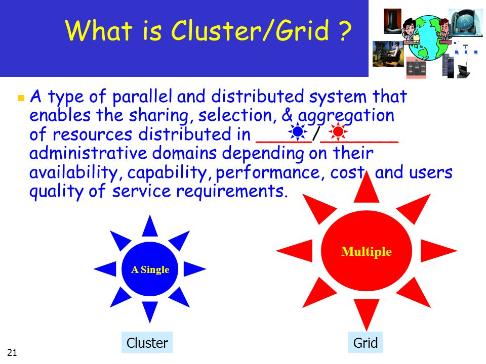 What is Cluster/Grid