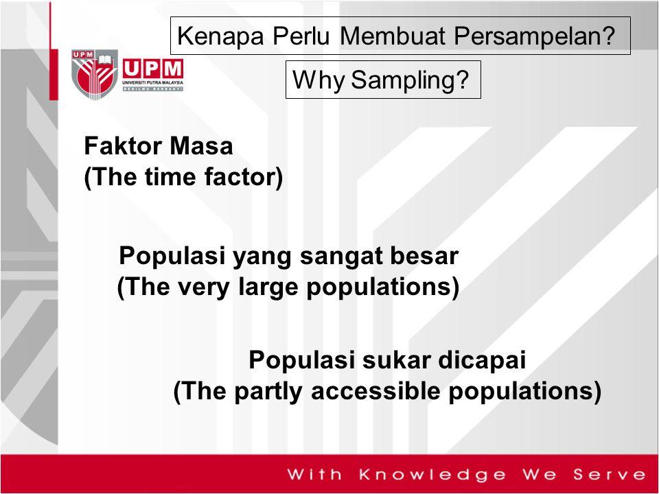 Populasi yang sangat besar (The very large populations)
