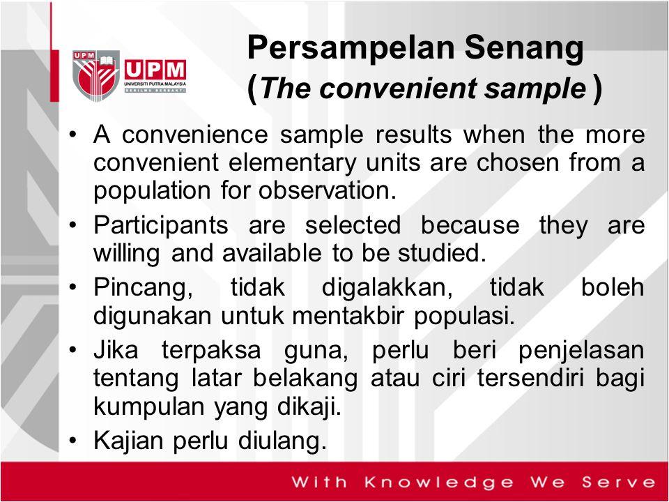 (The convenient sample )