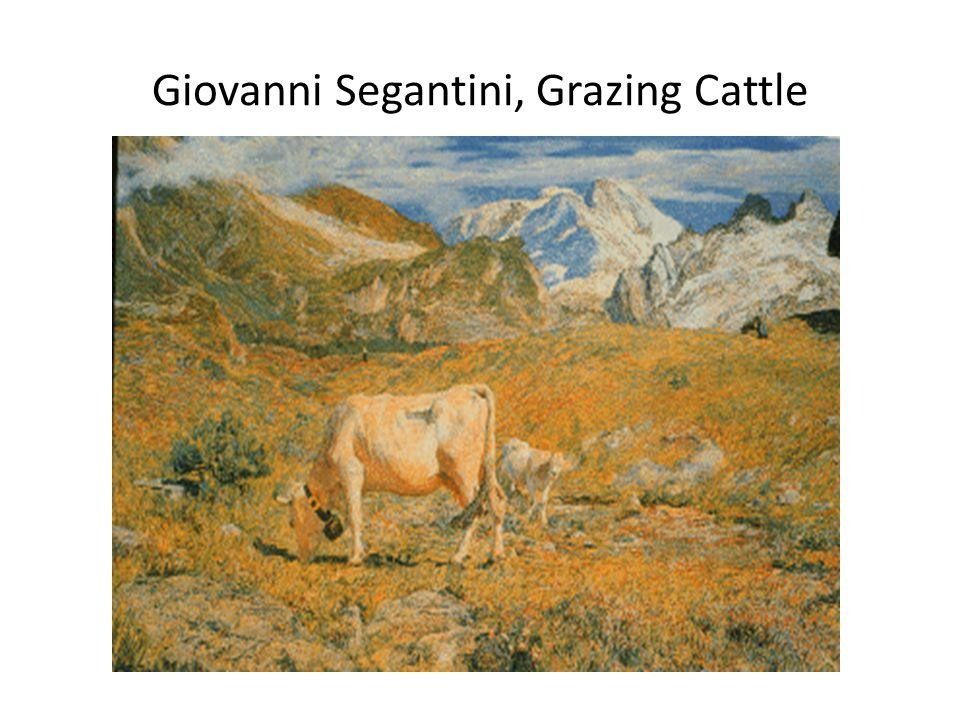 Giovanni Segantini, Grazing Cattle