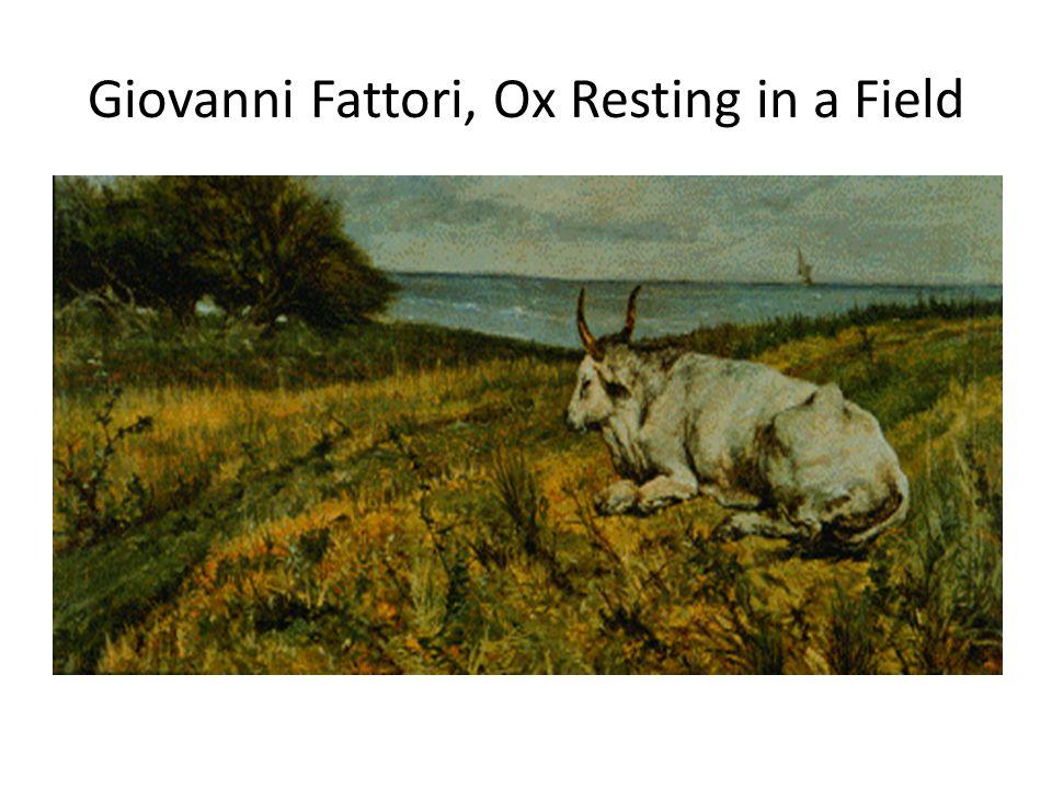 Giovanni Fattori, Ox Resting in a Field