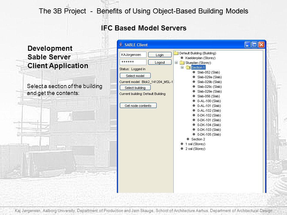 IFC Based Model Servers