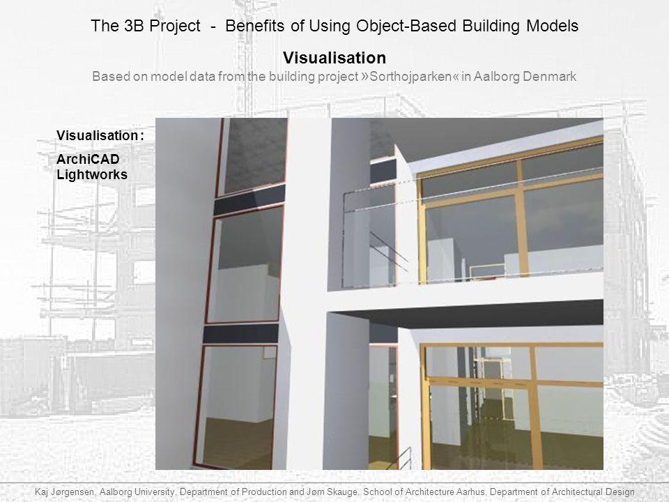 Visualisation Based on model data from the building project »Sorthojparken« in Aalborg Denmark. Visualisation :