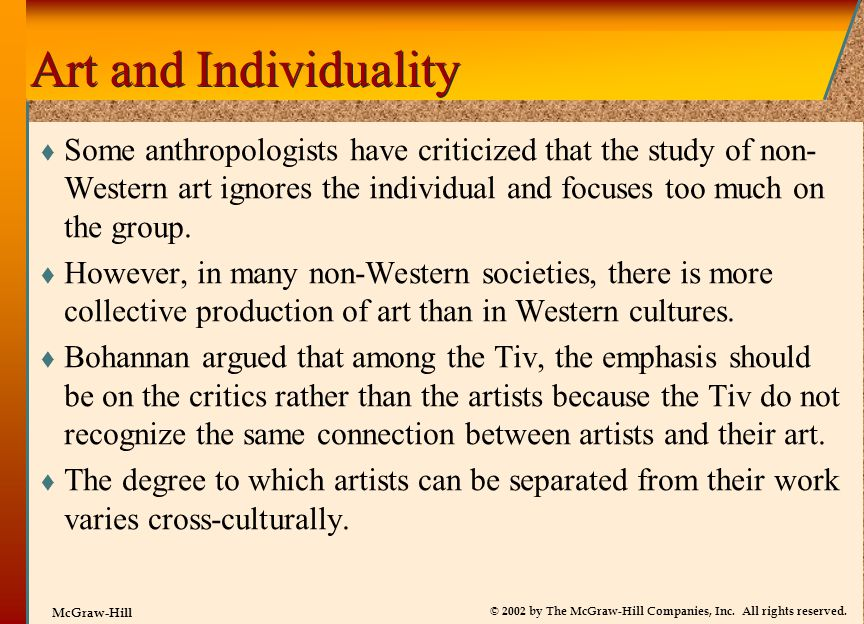 Art and Individuality