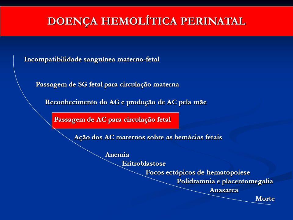 DOENÇA HEMOLÍTICA PERINATAL