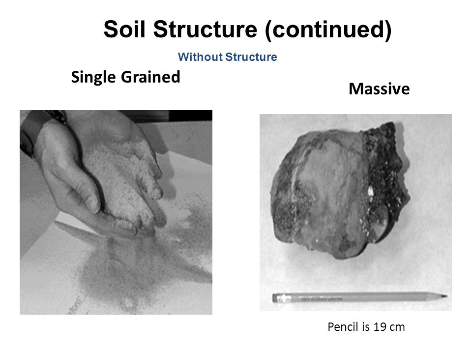 Soil Structure (continued)