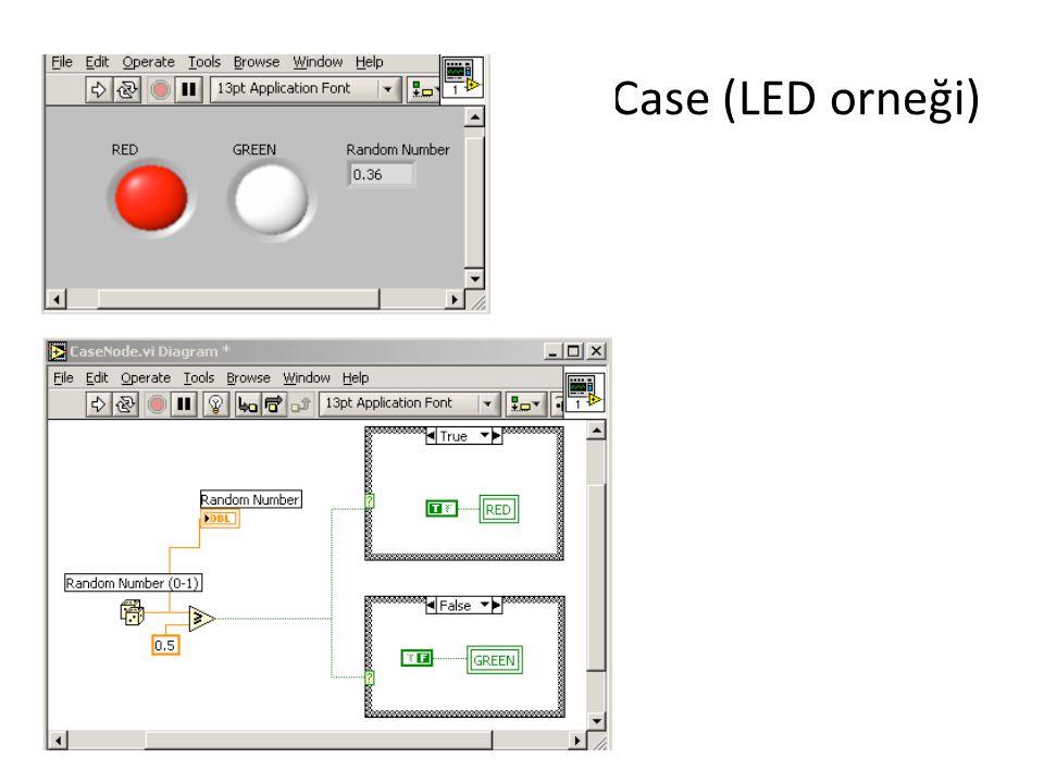 Case (LED orneği)