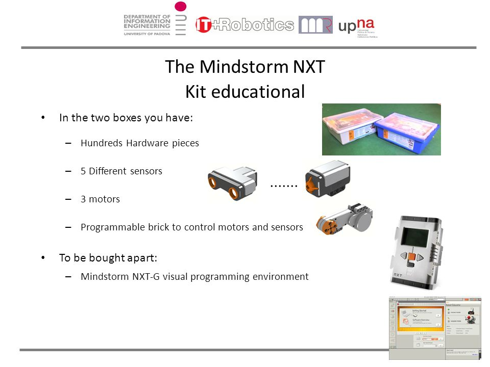 The Mindstorm NXT Kit educational