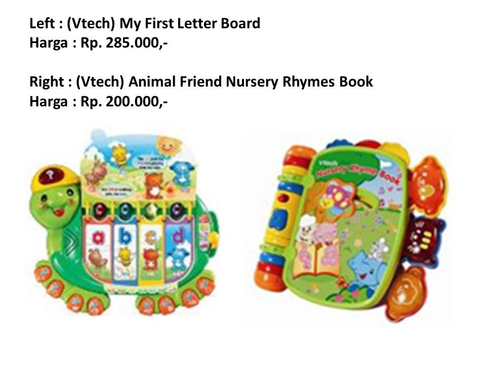Left : (Vtech) My First Letter Board Harga : Rp. 285