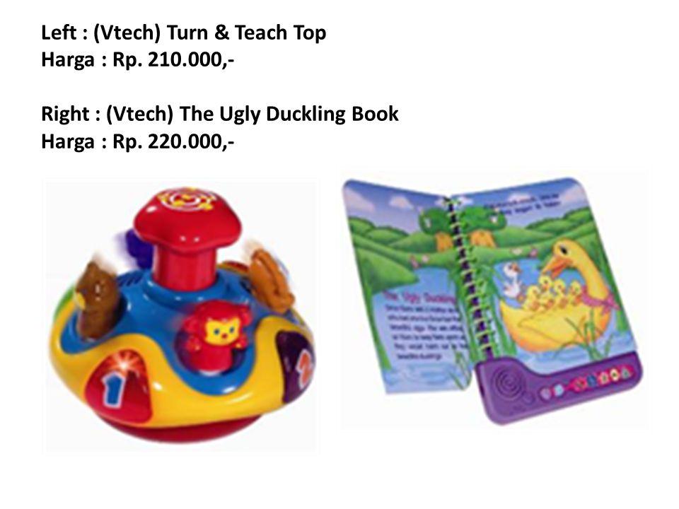 Left : (Vtech) Turn & Teach Top Harga : Rp. 210